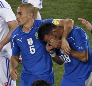 イタリア敗退
