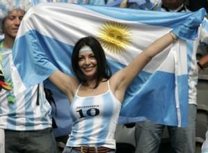 アルゼンチンサポーター