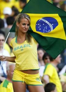 ブラジル代表サポーター