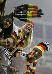 ドイツ代表サポーター