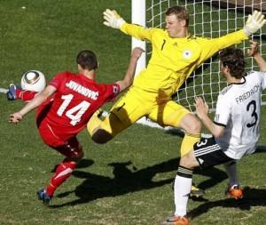 ドイツ対セルビア