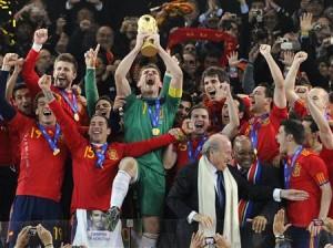 スペイン優勝