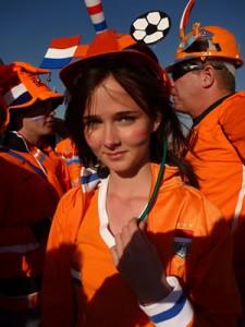 オランダサポーター